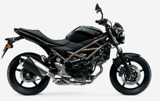 Suzuki 2021 Euro 5 nakedbike