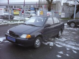 Suzuki Swift 1,3 GLXI TOP STAV ČR 4000KM sedan benzin