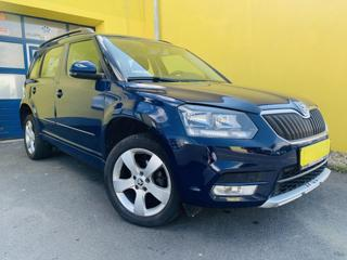 Škoda Yeti 2.0 TDI 81 kW  4x4 PUVOD ČR SUV