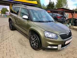 Škoda Yeti 2.0TDi 4X4, GARANCE KM SUV