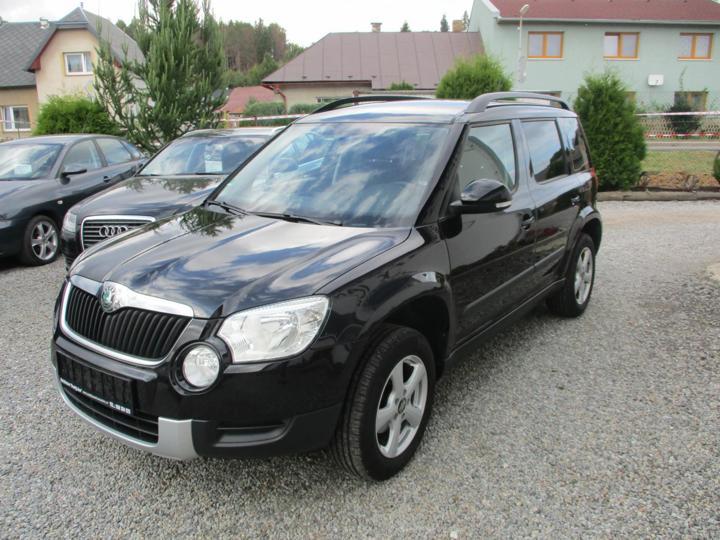 Škoda Yeti 1.4 TSI Zimáky,Serviska SUV