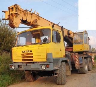 Tatra autojeřáb