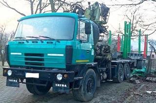 Tatra pro přepravu dřeva