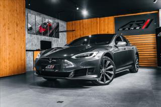 Tesla Model S 0,0 AUTOPILOT, SUPERCHARGING, DULA  BR limuzína elektro