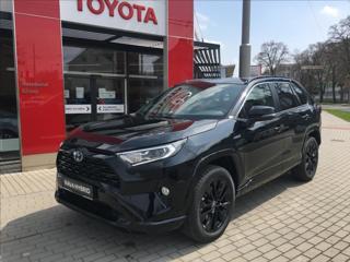 Toyota RAV4 2,5 Hybrid Black Edition 4x4 SUV hybridní - benzin