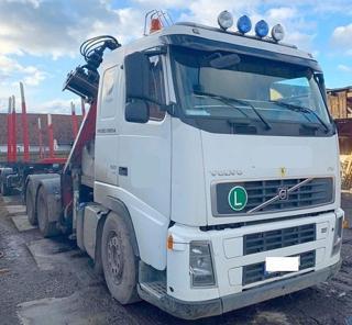 Volvo pro přepravu dřeva