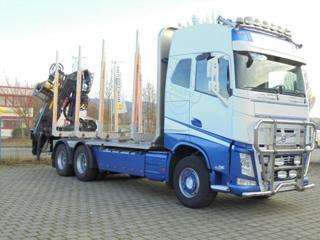 Volvo FH 500 6x4 lesovůz EURO 6 pro přepravu dřeva