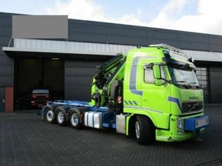 Volvo FH 540 8x4 JNK + HR EURO 5 pro přepravu kontejnerů - 1