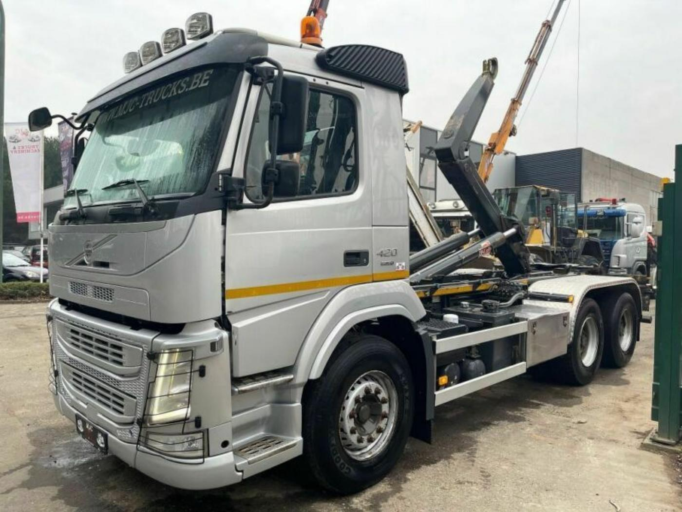 Volvo FM 420 6x4 JNK EURO 6 pro přepravu kontejnerů