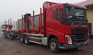 Volvo FH 500 6x4 souprava do lesa EURO 6 pro přepravu dřeva