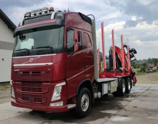 Volvo FH 500 6x4 lesovůz EURO 5 pro přepravu dřeva