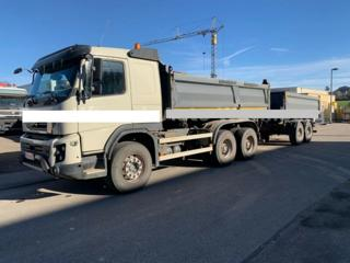 Volvo FM X500 6x4 Bordmatik + přívěs sklápěč