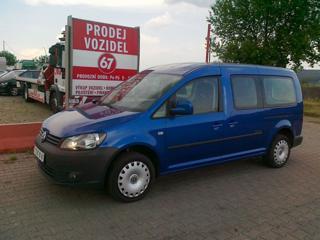 Volkswagen Caddy Maxi zemní plyn kombi