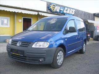 Volkswagen Caddy 1,6 LPG,  ,ABS,KLIMA,SERVISKA kombi LPG + benzin