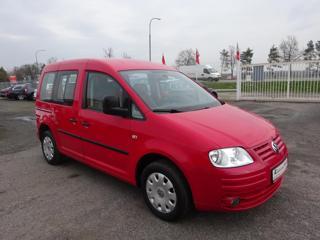 Volkswagen Caddy 1.6i LIFE serviska,digi.klima kombi