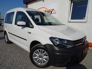 Volkswagen Caddy 2.0TDi,75kW,1majČR,serv.kn,DPH,klim kombi