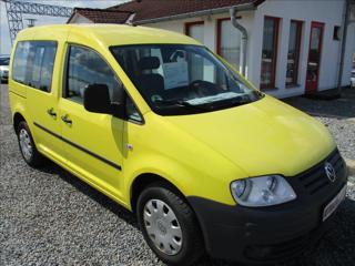 Volkswagen Caddy 1,9 TDi, klima, serviska,  Life kombi nafta