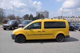 Volkswagen Caddy 2,0  osobní originál zástavba CNG kombi CNG + benzin