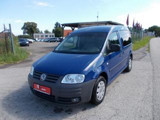 Volkswagen Caddy 1.9 TDi, 77 kW, DSG, LIFE Family kombi