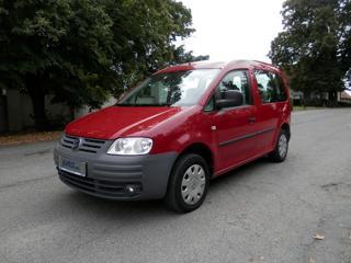 Volkswagen Caddy 2.0 CNG, 5míst, Klima, Tažné kombi