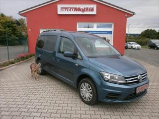Volkswagen Caddy 1,4 TGI MAXI DIGIKLIMA NOVÁ STK kombi CNG + benzin