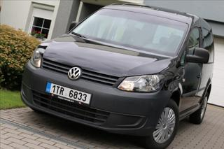 Volkswagen Caddy 2,0 CNG NAVI TAŽNÉ,serv.kn MPV CNG + benzin