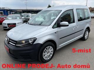 Volkswagen Caddy 1.2 TSi 5-Míst*Klima*Po servise Tempomat*2x boční  dveře*Plná servisní historie! MPV benzin