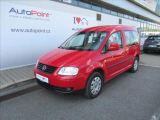 Volkswagen Caddy 1,9 TDi Life 1.ČR TAŽNÉ WEBASTO MPV nafta