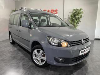 Volkswagen Caddy 1,2   TSI MAXI 7 MÍST 1.MAJITEL MPV benzin