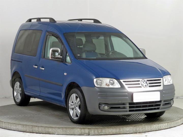 Volkswagen Caddy 1.9 TDI 77kW pick up nafta