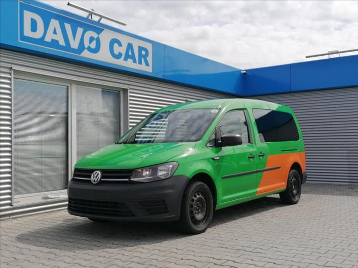 Volkswagen Caddy 2,0 TDI Klima 1.Maj. DPH Maxi kombi nafta