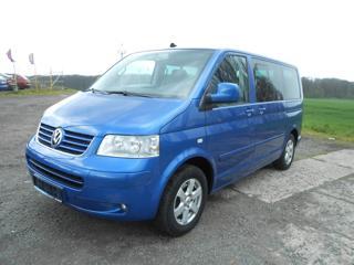 Volkswagen Multivan 2.5 TDI 128 kW Serviska 1.Majitel minibus