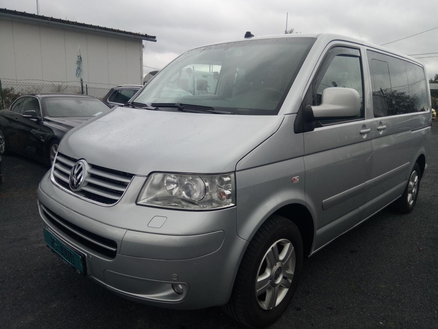 Volkswagen Multivan 2,5TDi HIGHLINE, KŮŽE,XENON,NAVI,SE MPV