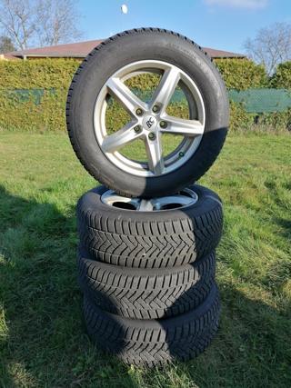 Ostatní 215/60 R16 zimní sada Alu + pneu