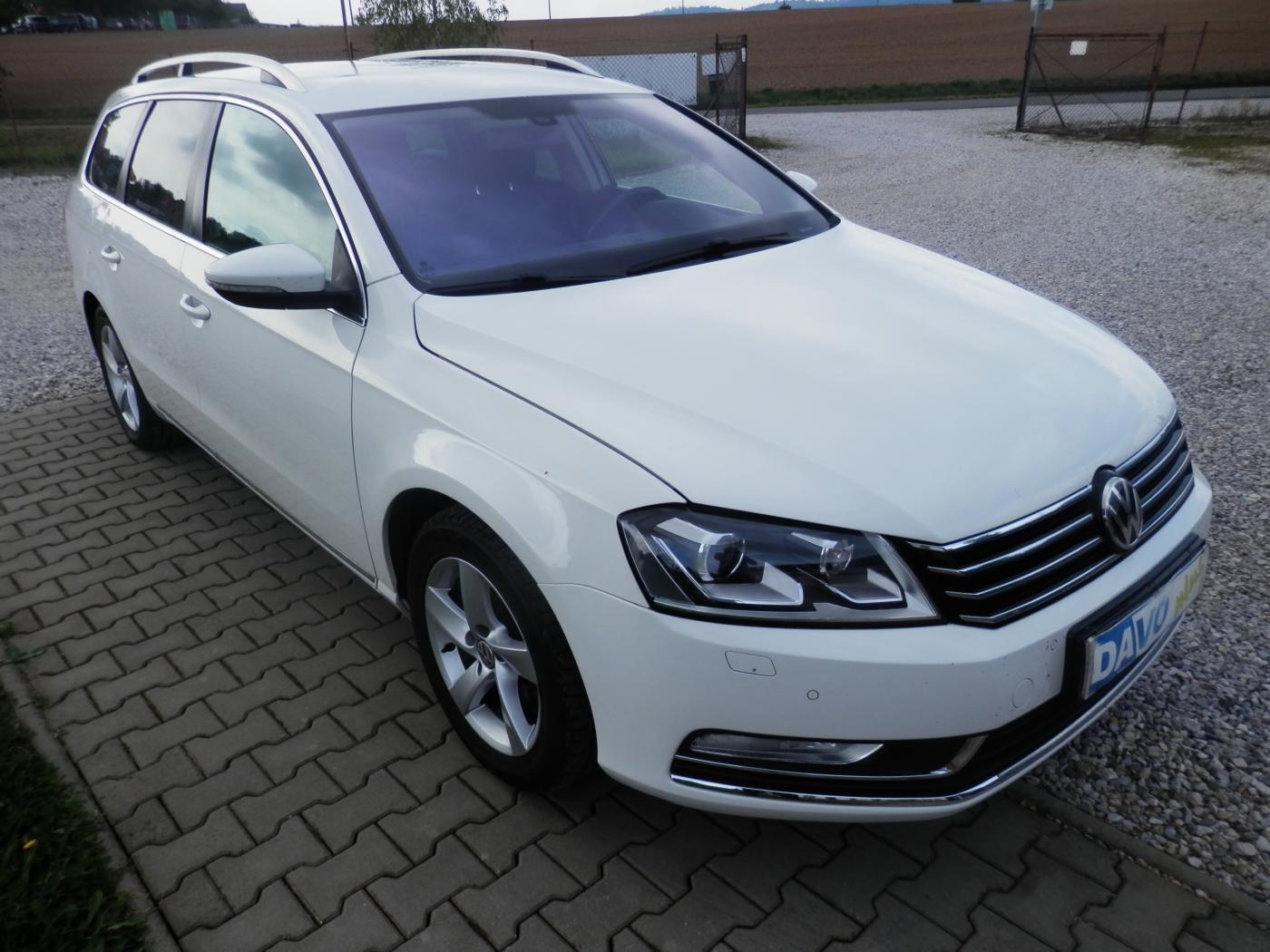 Volkswagen Passat 1,4 TSI CNG+Benzín kombi