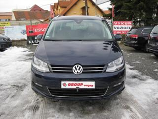Volkswagen Sharan 2,0 TDI 7Míst, Dět.int.sedačka MPV