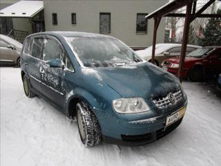 Volkswagen Touran 1,9 TDI  TAŽNÉ ZAŘÍZENÍ kombi nafta