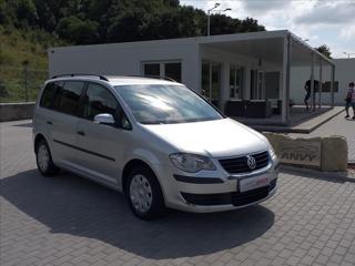 Volkswagen Touran 2,0 CNG,80KW,KLIMA,TAŽNÉ kombi CNG + benzin