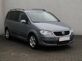Volkswagen Touran CNG 2.0, Aut.klima, výh.sed. MPV CNG