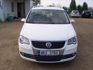 Volkswagen Touran 1,9 TDi klima serviska MPV nafta