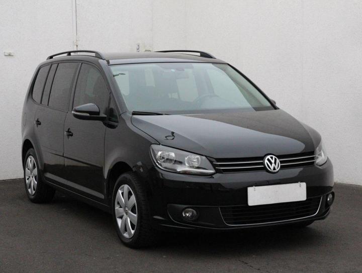 Volkswagen Touran 2.0TDi, Serv.kniha, ČR MPV nafta