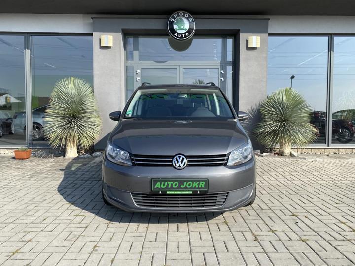 Volkswagen Touran 1.6 TDI 77kW 7 MÍST ALU TOP STAV MPV