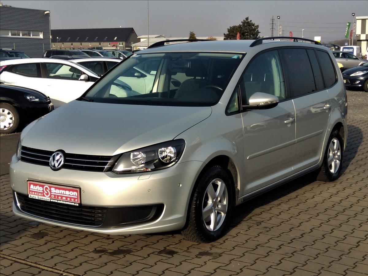 Volkswagen Touran 1,4 TSi 103kW * DIGI A/C* VÝHŘEV* MPV benzin