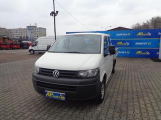 Volkswagen Transporter 2.0TDI DVOJKABINA VALNÍK KLIMA SERV užitkové