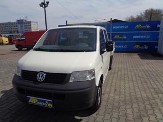 Volkswagen Transporter 6MÍST DVOJKABINA VALNÍK  2,5TDI užitkové