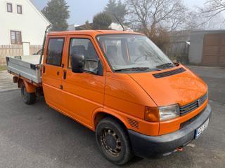 Volkswagen Transporter 2,5TDi,double cab-valník VAN