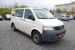 Volkswagen Transporter 2,5 TDi,ČR,2 MAJ.,4M,6 MÍST. VAN nafta