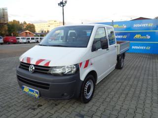 Volkswagen Transporter 2.0TDI DVOJKABINA VALNÍK  6 MÍST valník