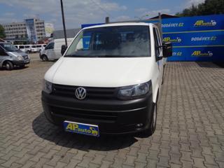 Volkswagen Transporter 6MÍST 2.0TDI DVOJKABINA VALNÍK SERV valník