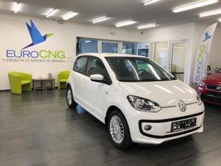 Volkswagen up! 1.0 ECO Záruka 1 rok hatchback CNG